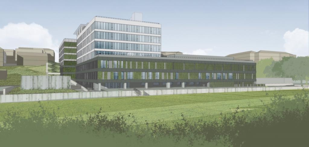 Nowy blok szpitala nr 1 w Lublinie