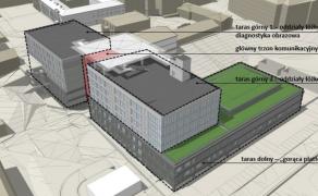 Nowy blok szpitala nr 1 w Lublinie - Budimex