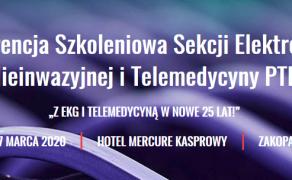 Kasprowisko 2020 - XXVI Konferencja Szkoleniowa Sekcji Elektrokardiologii Nieinwazyjnej i Telemedycyny PTK 2020